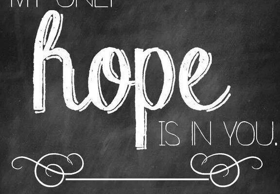 Hope: Is It in You?